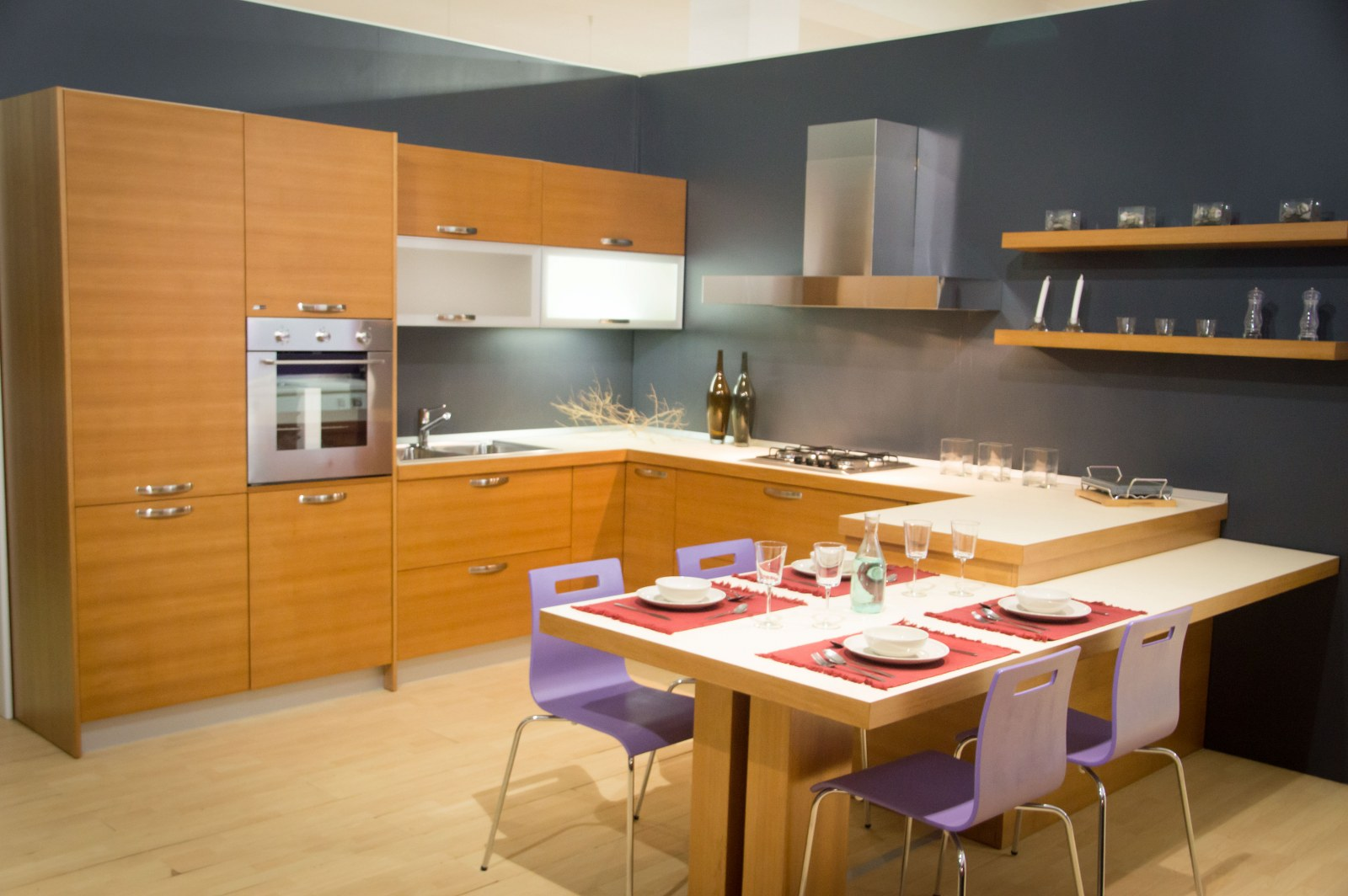 Line Teak | Furleo Cucine