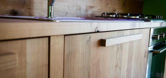 Loft: il legno massello incontra lo stile industrial